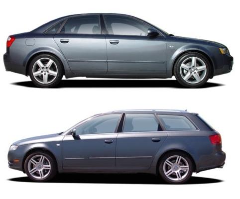AUDI A4/S4/RS4 (B6/B7) (2001-2008) SLUNEČNÍ CLONY