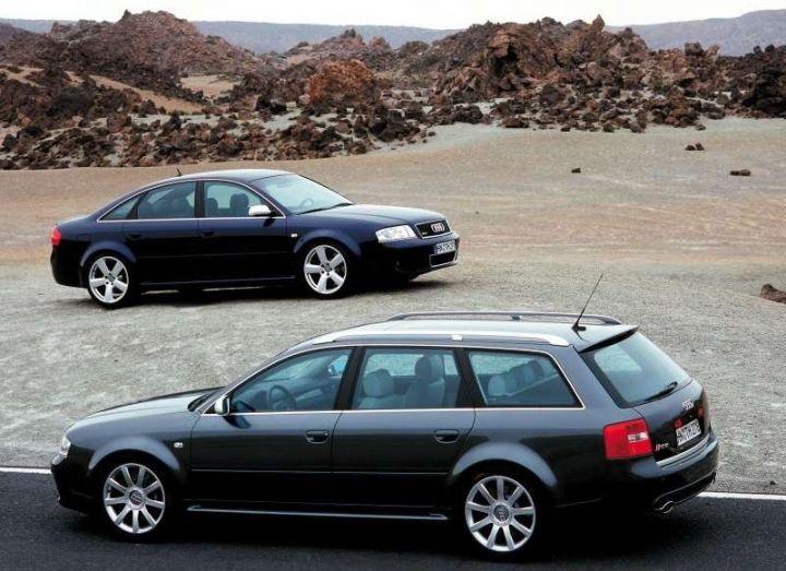 AUDI A6/S6/RS6 (C5)  (1997-2003) SLUNEČNÍ CLONY
