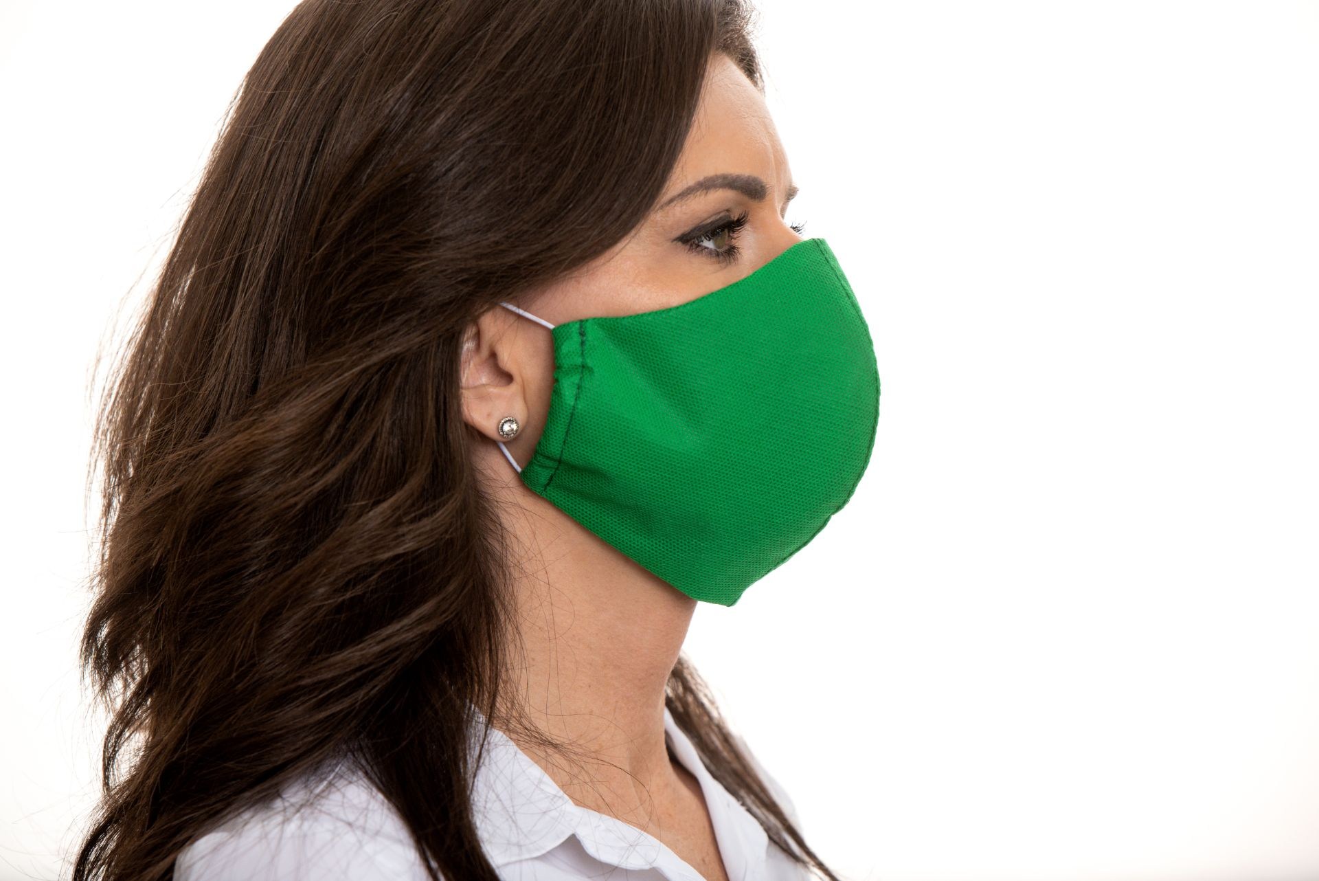 Ústní roušky – Zelená (x10 kusové balení)  OCHRANNÉ ROUŠKY