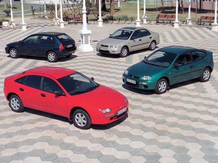MAZDA 323 BA (1994-1998) ŽEBROVANÉ AUTOKOBERCE