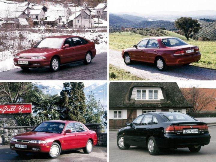 MAZDA 626 GE (1991-1997) ŽEBROVANÉ AUTOKOBERCE