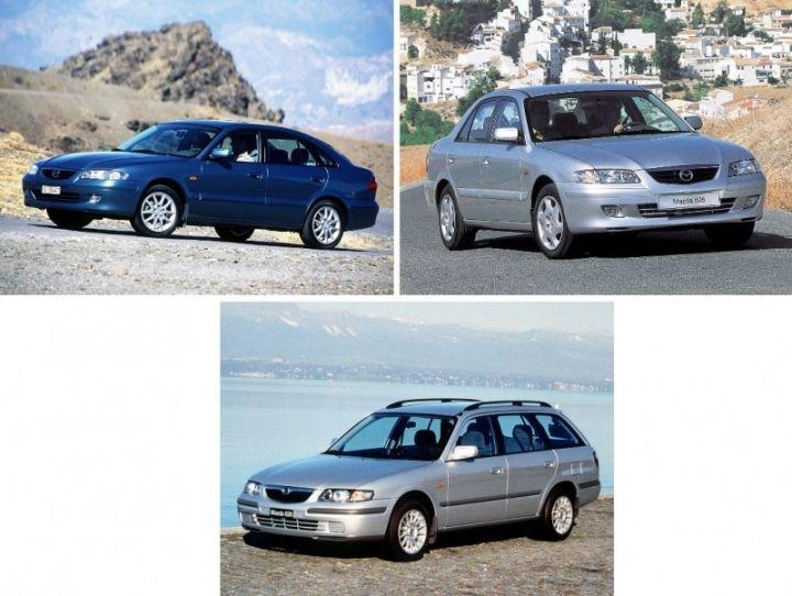 MAZDA 626 GF (1997-2003) ŽEBROVANÉ AUTOKOBERCE