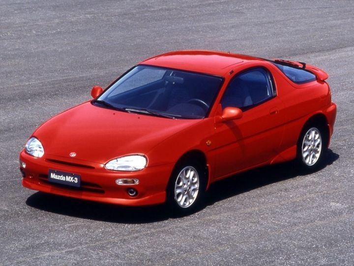 MAZDA MX3 (1992-1998) ŽEBROVANÉ AUTOKOBERCE
