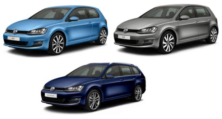 VW GOLF VII (2012-2020) Opěrka na nohu