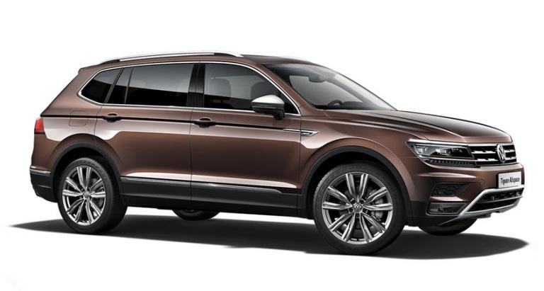 VW TIGUAN ALLSPACE (2017-) GUMOVÉ AUTOKOBERCE