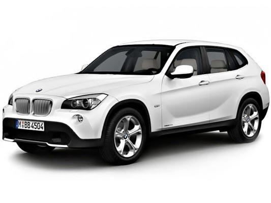 BMW X1 (E84) (2009-2013) OCHRANNÁ LIŠTA HRANY KUFRU