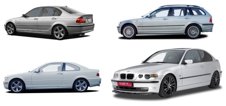 BMW 3 (E46) (1998-2005) PRÉMIUM GUMOVÉ AUTOKOBERCE